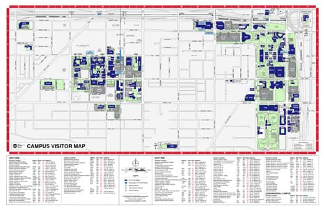 University Of Illinois Map Maps